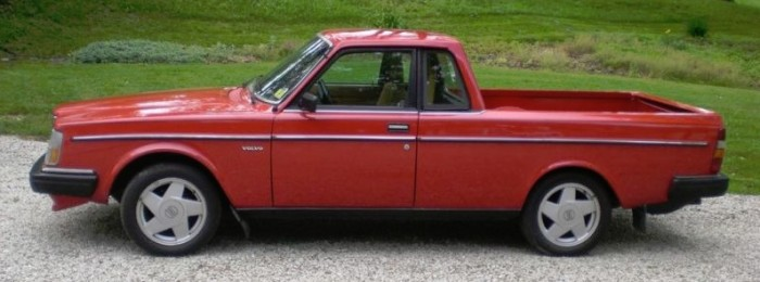 It Should Have Been Made The Volvo 240 Pickup