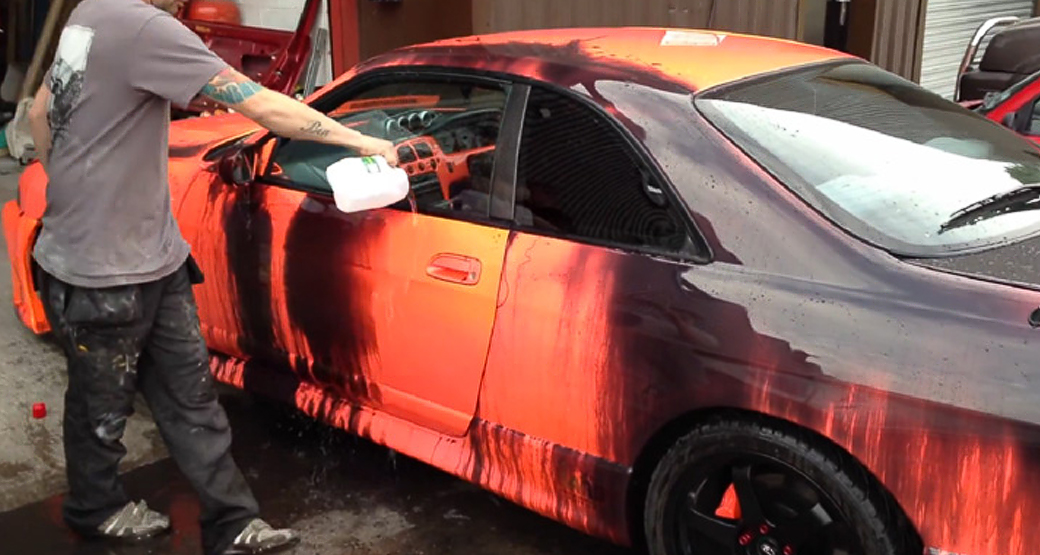 Car changes color by the power of water for Car paint color changing