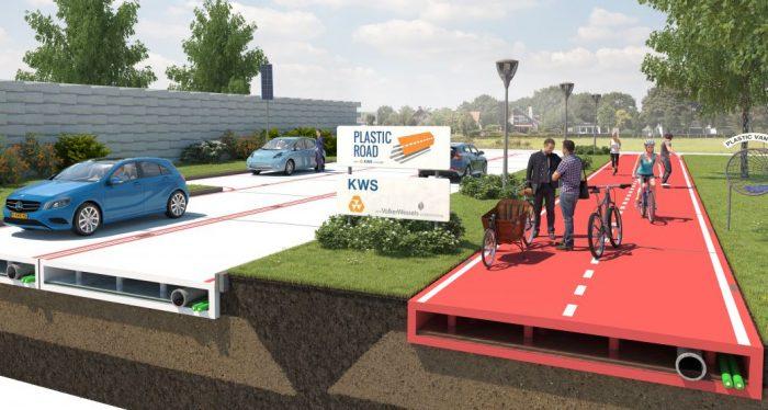 imagen holanda Volker Wessels Plastic Road