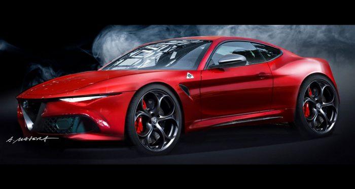 Fantasy Alfa Romeo Giulia Coupe Concept Is One For The ...