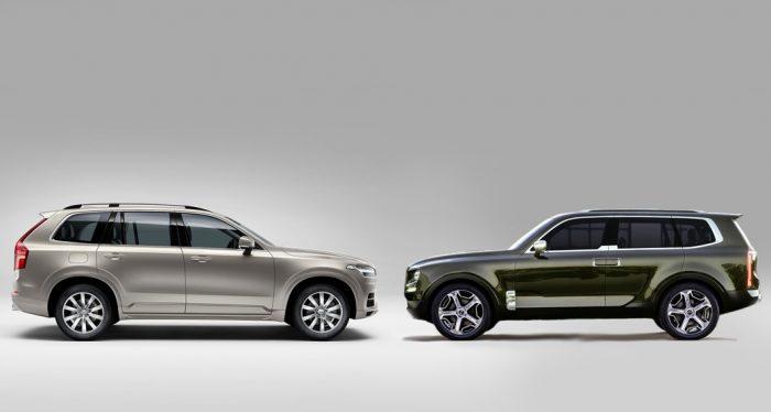 Look-a-Likes: Volvo XC90 vs Kia Telluride Concept