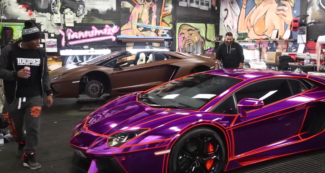 Kid Playing Video Games On Youtube Buys Amp Wraps A Lamborghini