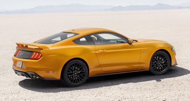 Ford Mustang 2018 прошел первый дорожный тест