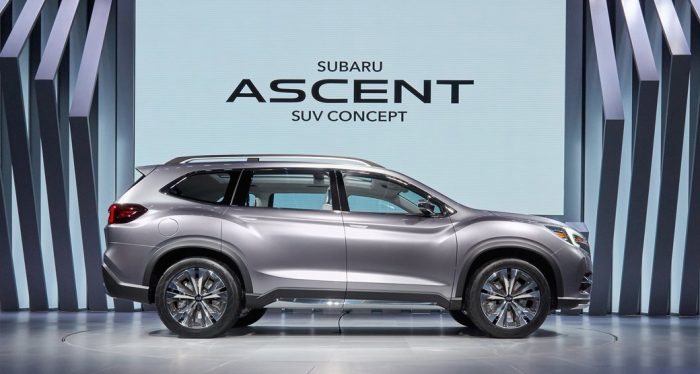 Subaru Create Mahoosive 8 Seat SUV For Trumps America - Daily Car Blog |