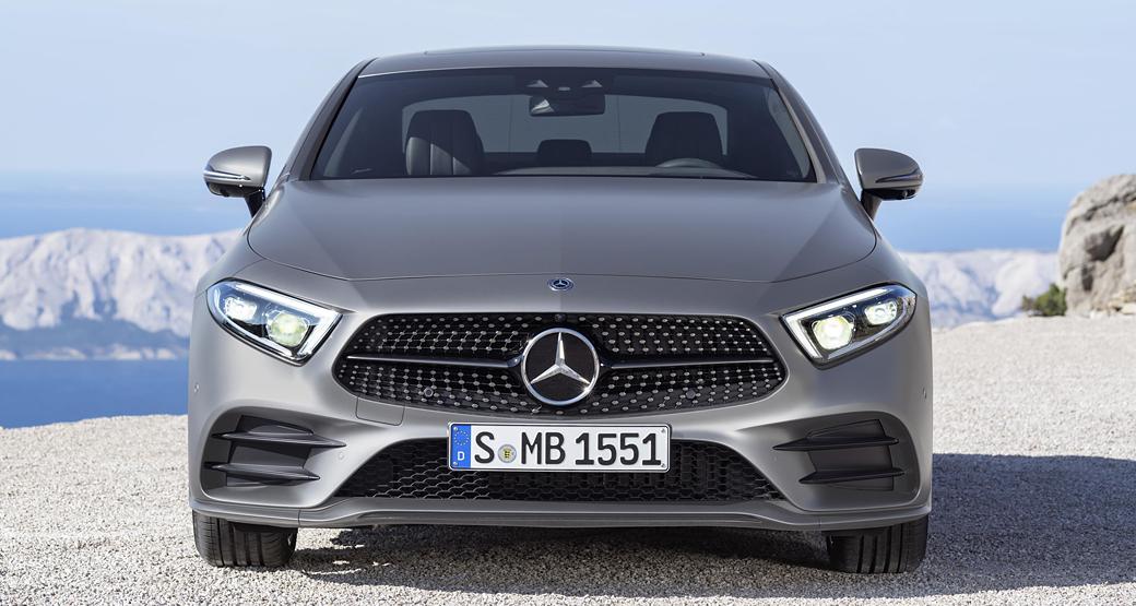 Mercedes-CLS-Third-Gen-Front-View-Dailycarblog