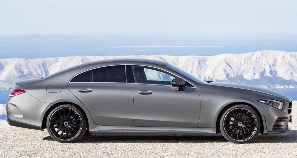 Mercedes-CLS-Third-Gen-Profile-View-Dailycarblog