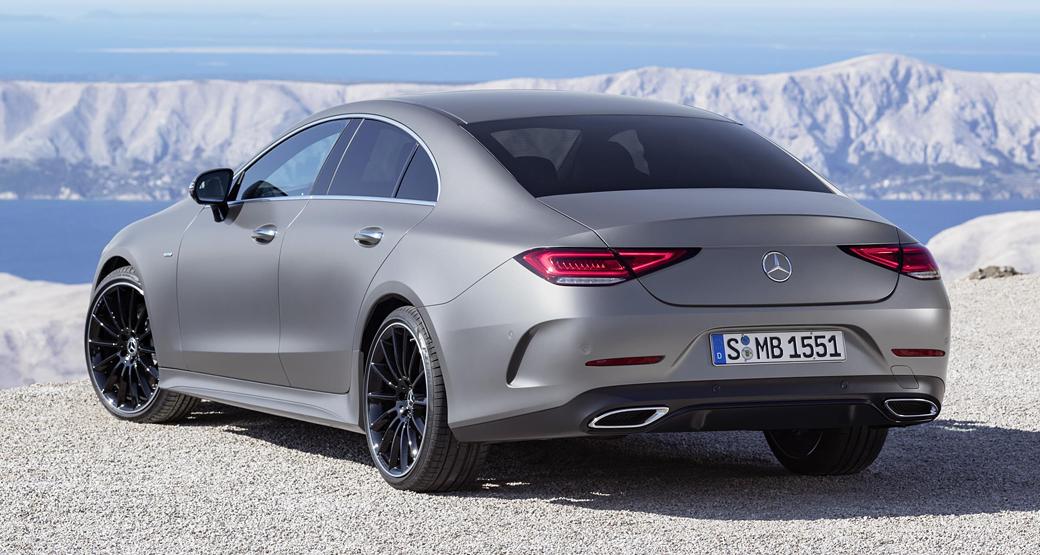 Mercedes-CLS-Third-Gen-Rear-View-Daily-Car-Blog