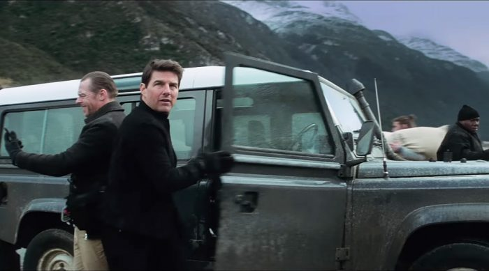 Mission Impossible, Fallout, Fife Automotive, Tom Cruise MOT Test