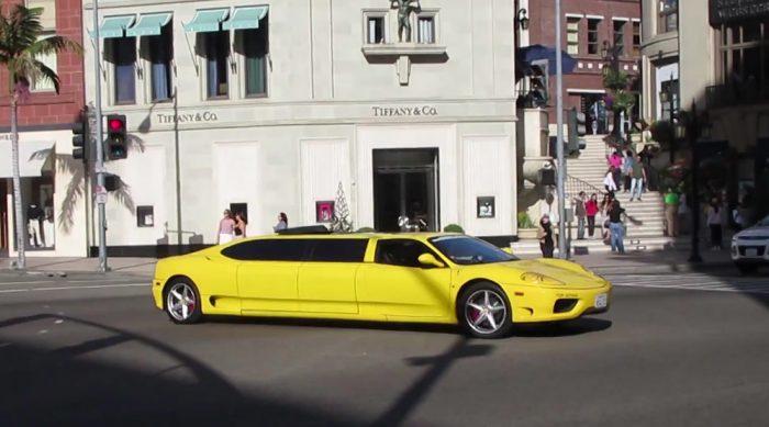Limousines, Ferrari 360 Stretch