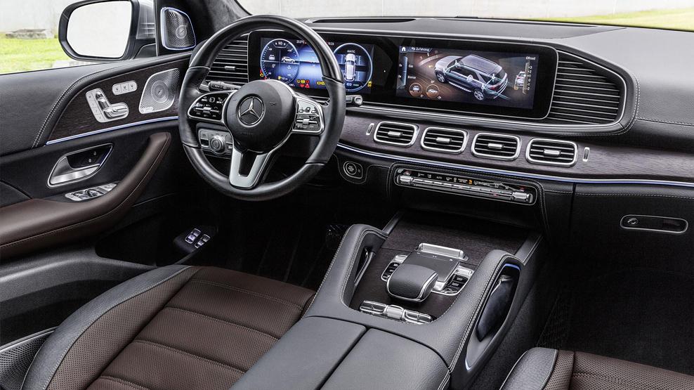 Mercedes Benz GLE, Y 2019, interior dailycarblog.com