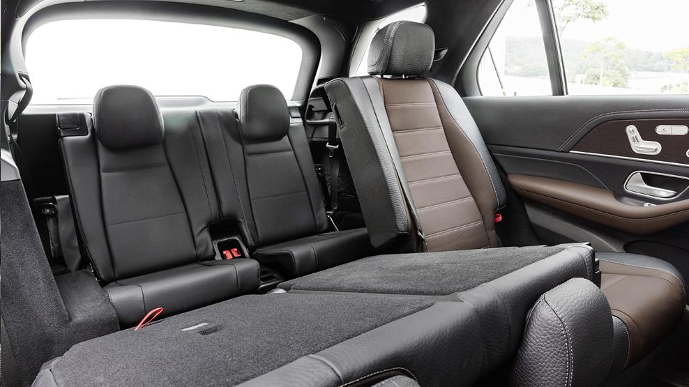 Mercedes Benz GLE, Y 2019, rear seating, dailycarblog.com